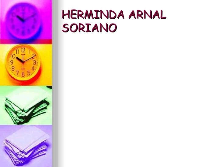HERMINDA ARNAL SORIANO