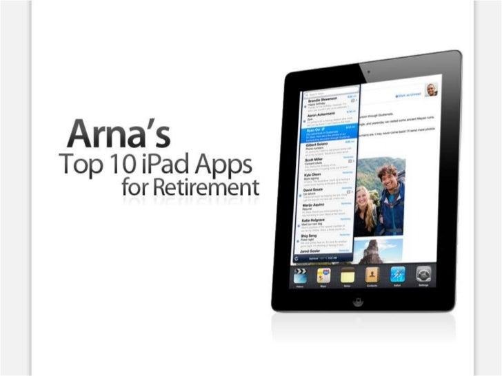 Arna's Top Ten iPad Apps for Retirement