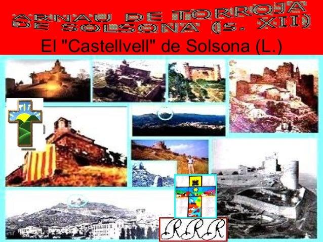 """El """"Castellvell"""" de Solsona (L.)"""