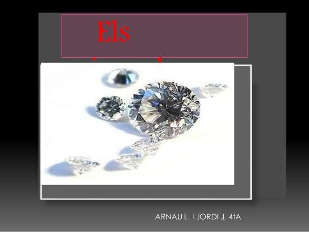 Els minerals ARNAU L. I JORDI J. 4tA
