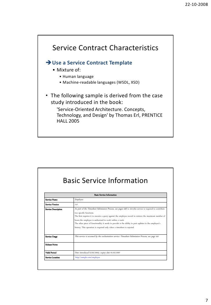 Arnaud Simon Service Contract Template – Basic Service Contract
