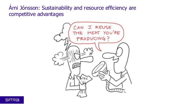 Árni Jónsson: Sustainability and resource efficiency are competitive advantages
