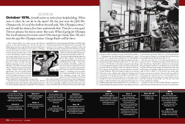 Arnold schwarzenegger - the first 60 years