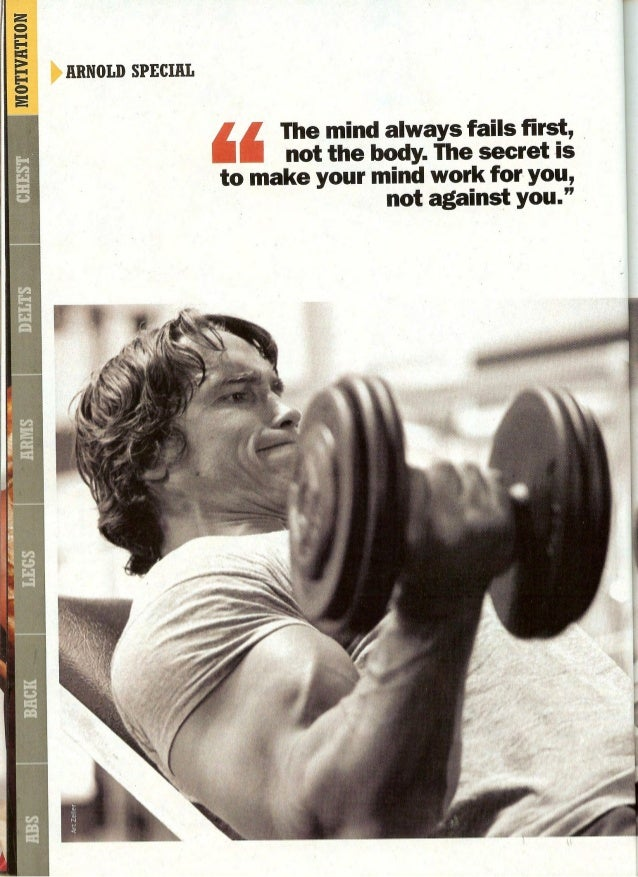 Arnold schwarzenegger   training chest