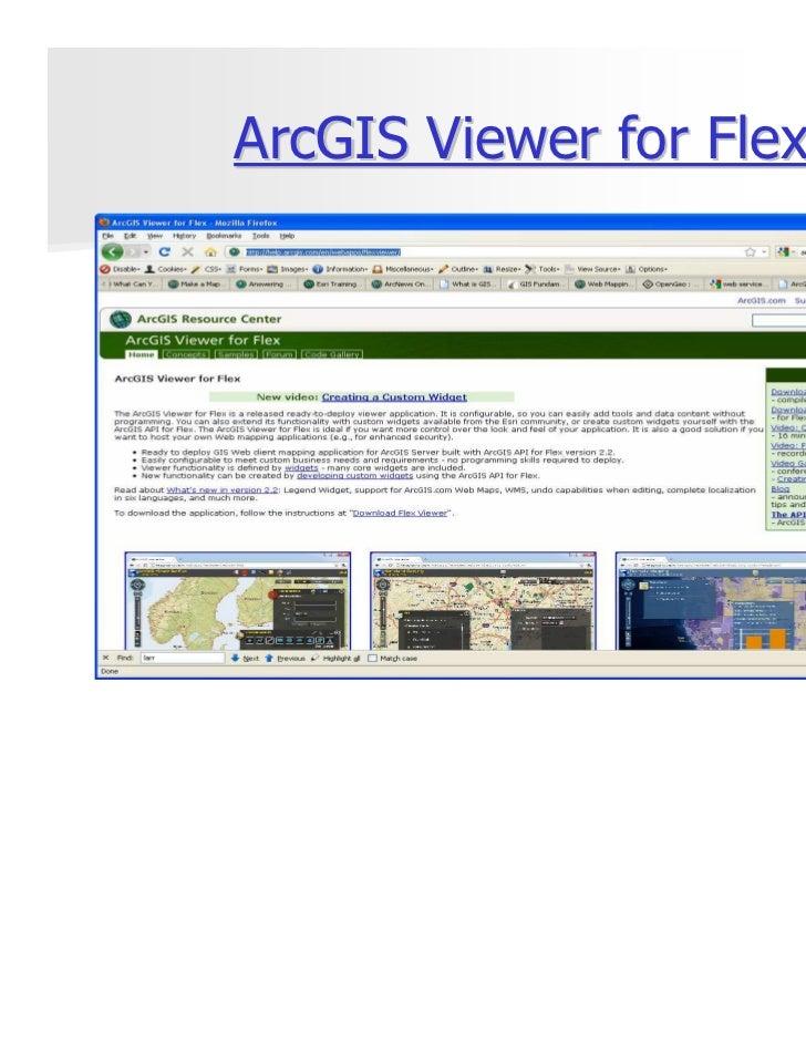 ArcGIS Viewer for Flex