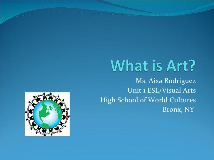 Arod elements of art