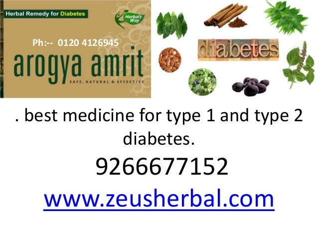 Best Herbal Cure For Diabetes Infographic