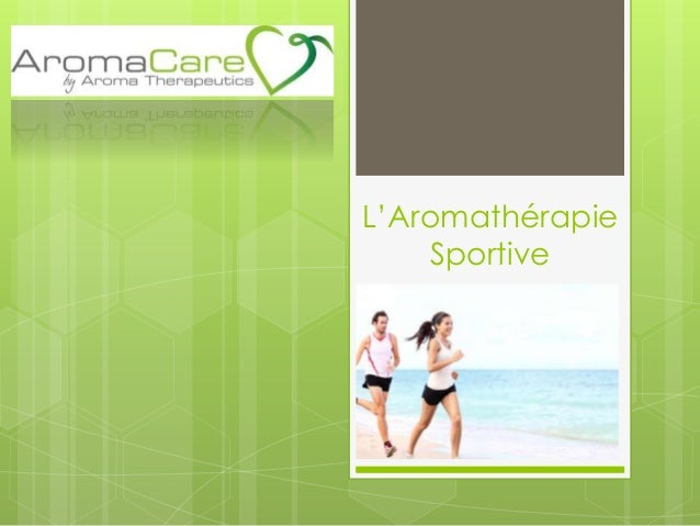L'Aromathérapie Sportive