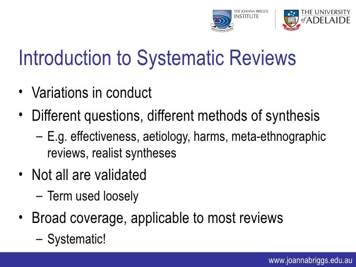 mixed methods systematic literature review Mixed research synthesis, mixed methods synthesis, mixed methods systematic review, mixed studies review, qualitative & quantitative systematic review  multidisciplinary topics or topics with a body of literature that includes quantitative, qualitative, and mixed methods studies.