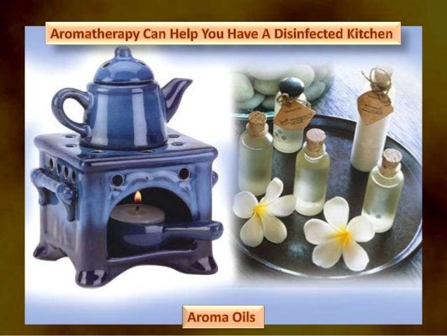 Aromatherapy for kitchen