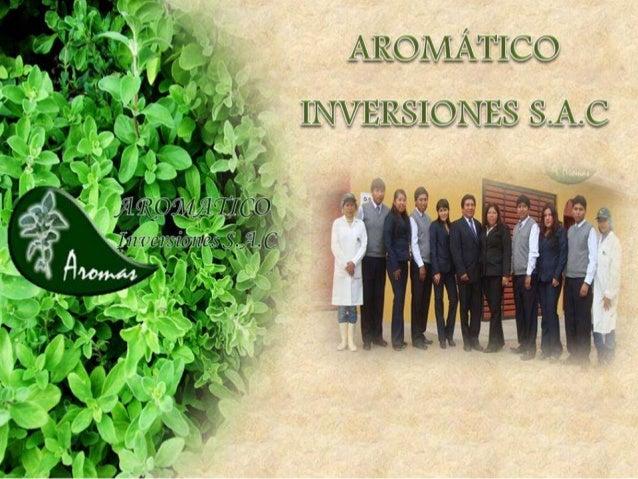 Somos una empresa peruana establecida en 1996, creada inicialmente para la producción y comercialización de orégano. Es ac...