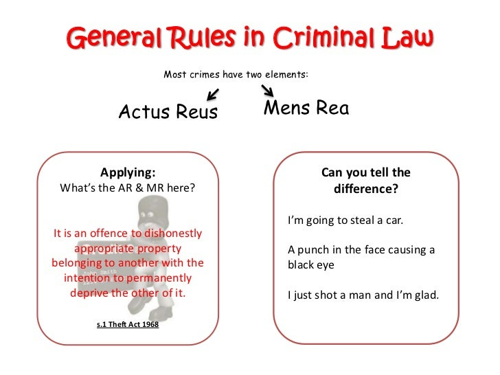 mens rea and defense Background mens rea, latin for the term guilty mind, refers to the legal requirement that a defendant must have a culpable state of mind before she can be found guilty of.