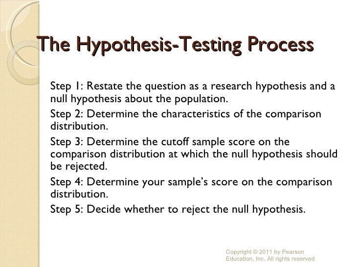 research sampling and null hypothesis The null hypothesis and the alternate hypothesis are types of for such a hypothesis the sampling distribution of any statistic is a advising on research.