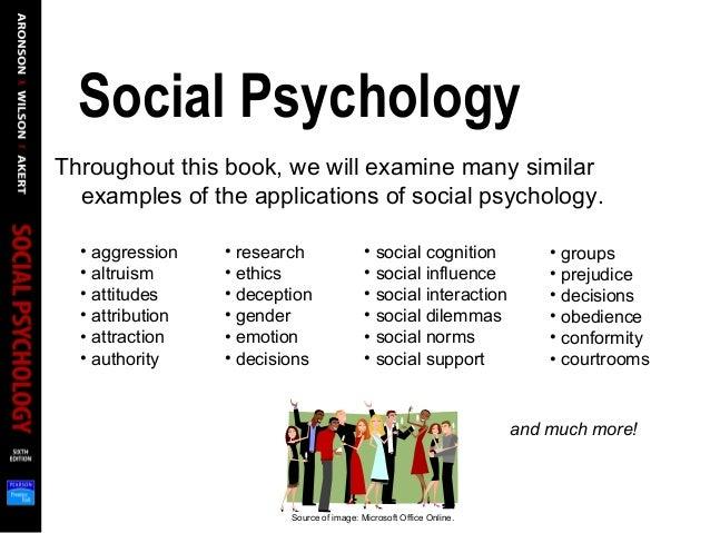 psychology social influences