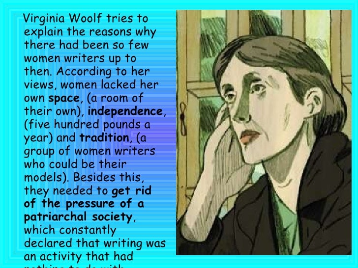A Room Of One S Own Virginia Woolf Argued
