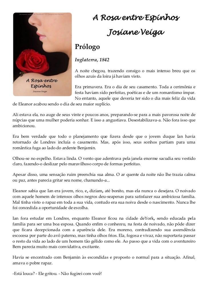 A Rosa entre Espinhos                                                     Josiane Veiga                                  P...