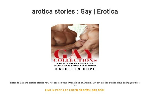 Gay erotic stories audio