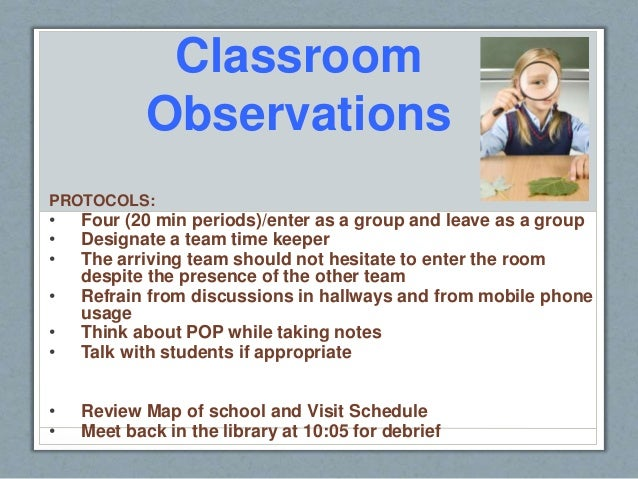 Modular Classroom Observations ~ A rounds ppt revised for challenger b