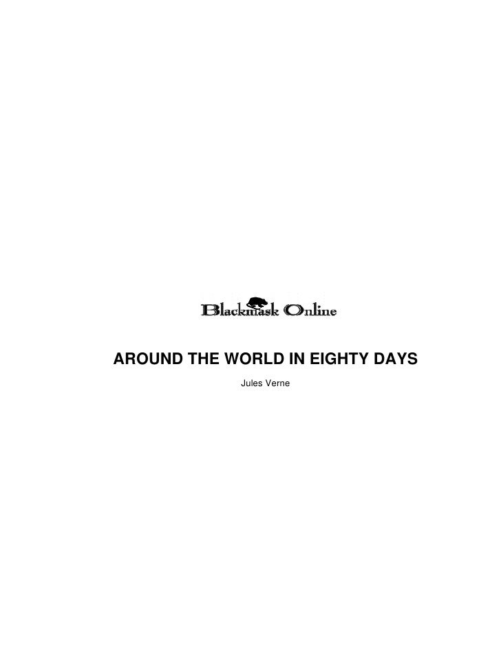 AROUND THE WORLD IN EIGHTY DAYS              Jules Verne