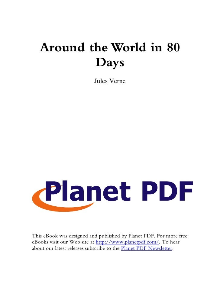 Around the World in 80            Days                           Jules Verne     This eBook was designed and published by ...