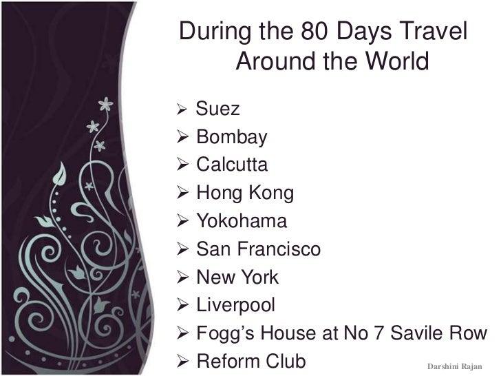 Around The World In 80 Days Map 14380   ENEWS