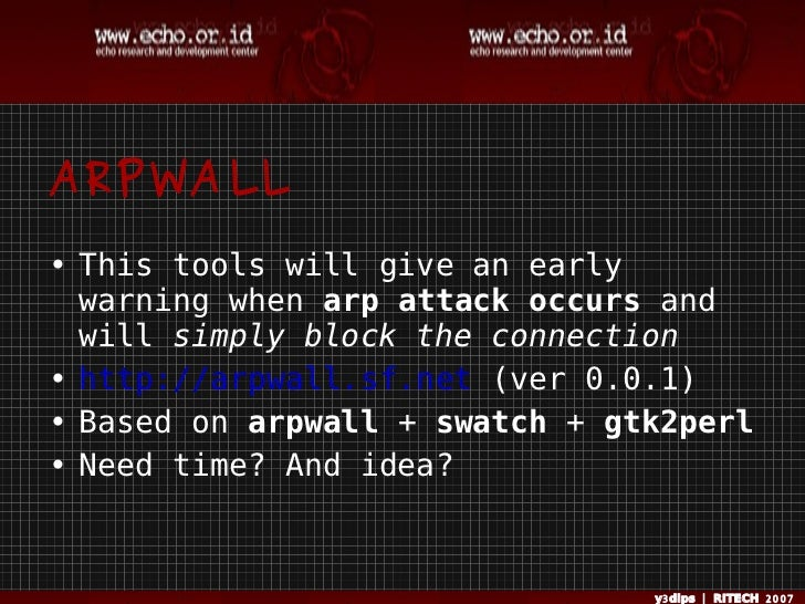 Arpwall Protect From Arp Spoofing on Latest Perl Write To File
