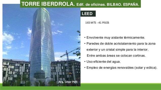 Arquitectura sustentable for Oficinas de iberdrola en madrid
