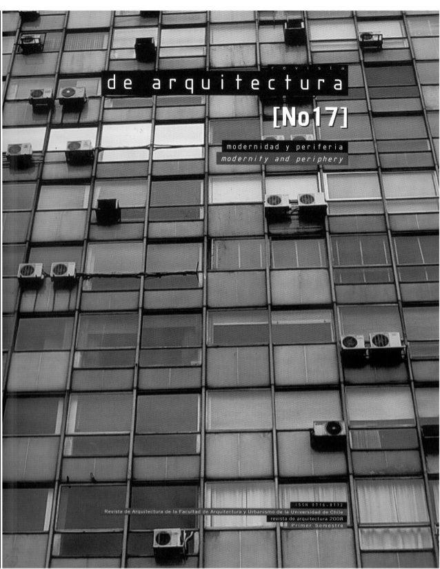 Revista de Arquitectura Nº17 - Muestra