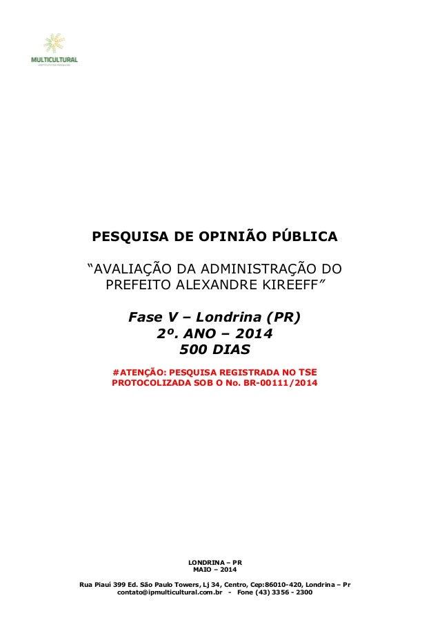 Rua Piauí 399 Ed. São Paulo Towers, Lj 34, Centro, Cep:86010-420, Londrina – Pr contato@ipmulticultural.com.br - Fone (43)...