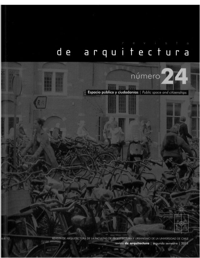 Revista de Arquitectura Nº24 - Muestra