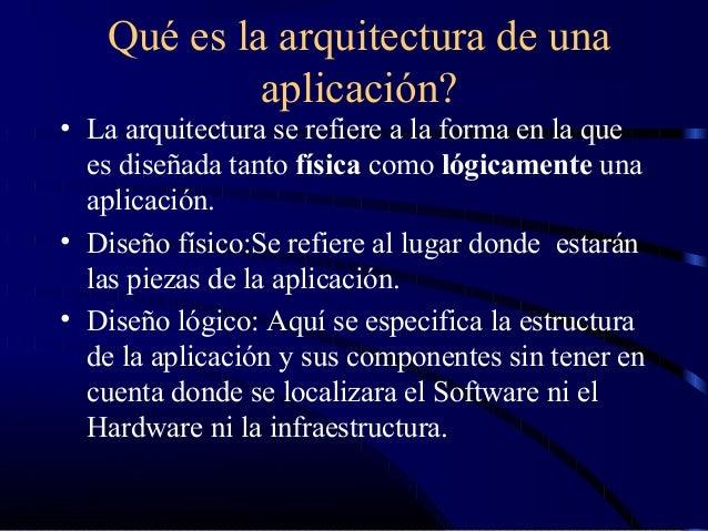Arquitectura en capas for Arquitectura de capas software