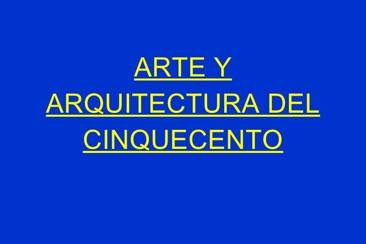 Arq cinquecento for Arquitectura quattrocento y cinquecento