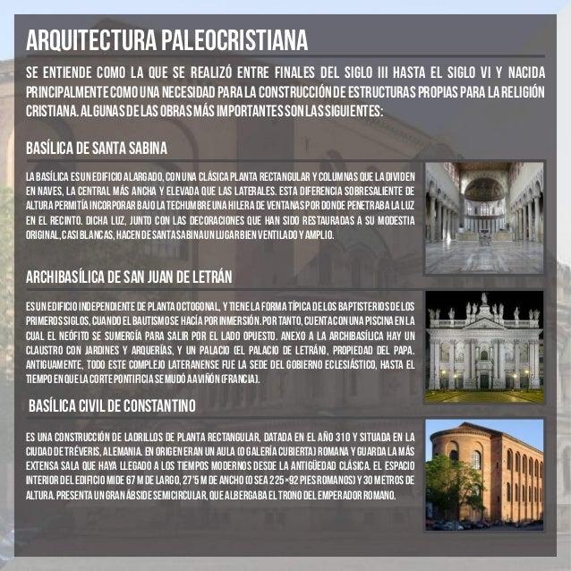 ARQUITECTURA PALEOCRISTIANA Y BIZANTINA  Slide 2