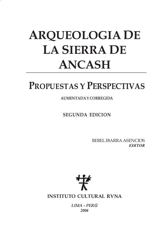 Arqueologia de la_sierra_de_ancash_propu