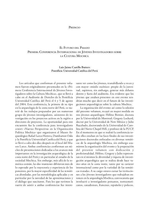 Bélisle EL HORIZONTE MEDIO EN EL VALLE DEL SANTA 17 EL HORIZONTE MEDIO EN EL VALLE DE SANTA: CONTINUIDAD Y DISCONTINUIDAD ...