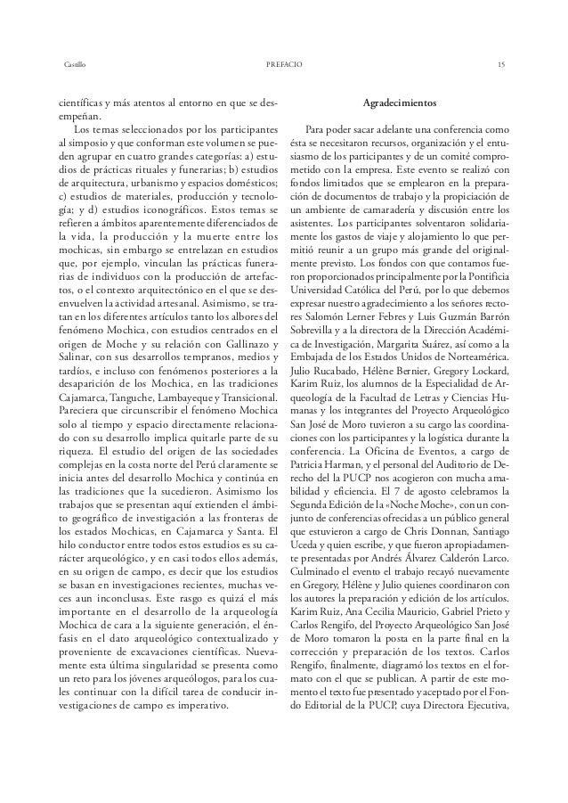 Bélisle EL HORIZONTE MEDIO EN EL VALLE DEL SANTA 19 Figura 2. El Castillo: las Terrazas Norte (Guadalupito) y Este (Suchim...