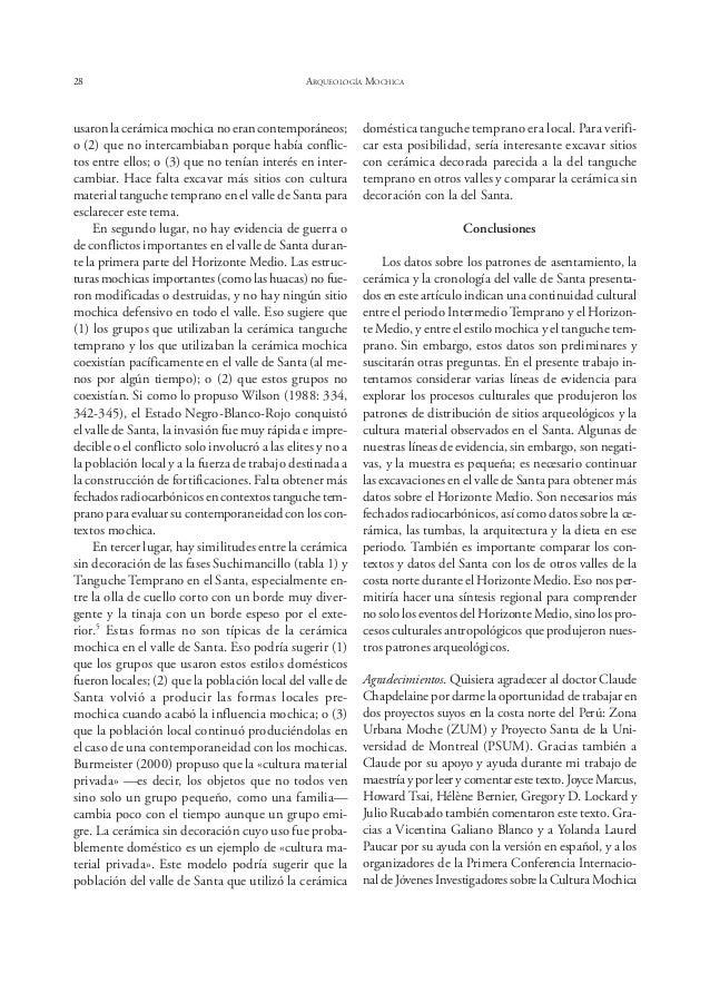 Bernier ESPECIALIZACIÓN ARTESANAL EN EL SITIO HUACAS DE MOCHE 33 LA ESPECIALIZACIÓN ARTESANAL EN EL SITIO HUACAS DE MOCHE:...