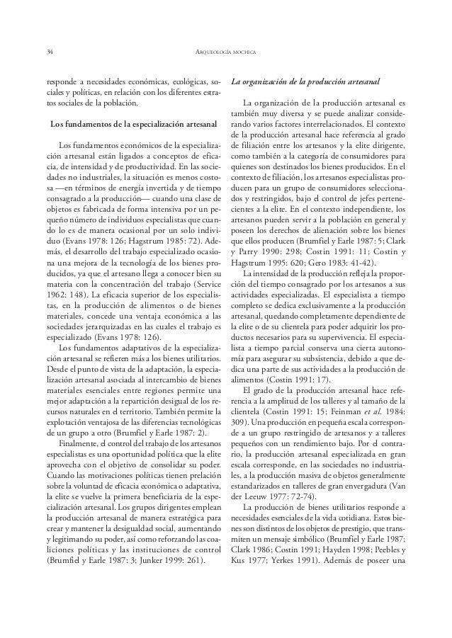 Bernier ESPECIALIZACIÓN ARTESANAL EN EL SITIO HUACAS DE MOCHE 39 Figura 5. Estructura de fundición de metales en el Conjun...