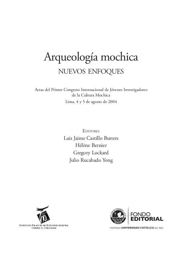 La presente publicación es posible gracias al auspicio del Fondo Editorial de la Pontificia Universidad Católica del Perú ...