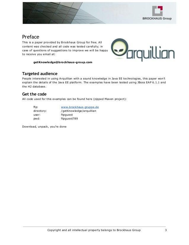 Arquillian in a nutshell Slide 3