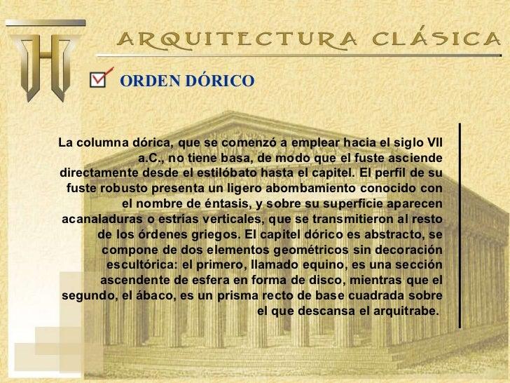 Arquitectura cl sica y renacentista for Arquitectura que se estudia