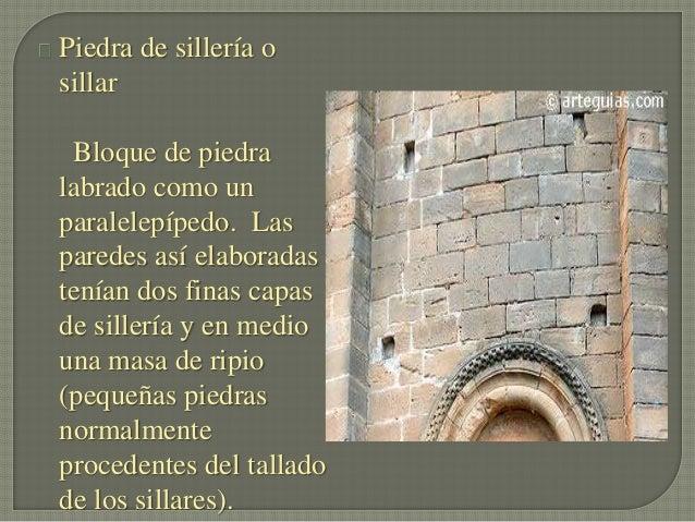 Arquitectura romanica for Piedra de silleria