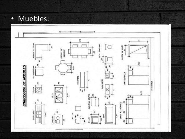 Arquitectura for Simbologia de niveles en planos arquitectonicos