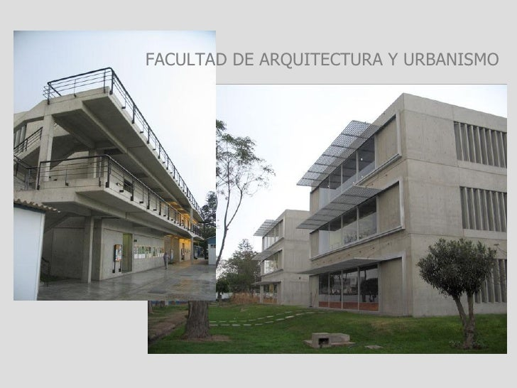 Arquitectura for Inscripciones facultad de arquitectura
