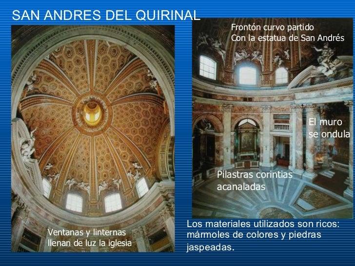 Arquitectura barroca for Que son los marmoles