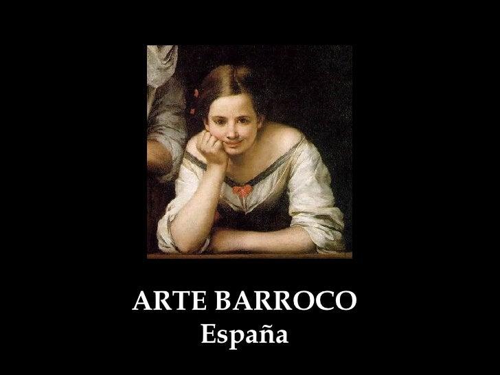 ARTE BARROCO España