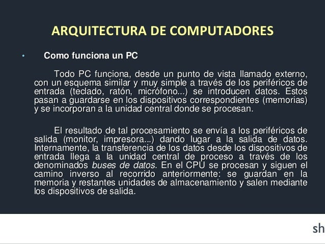 Arquitectura De Computadoras Documento