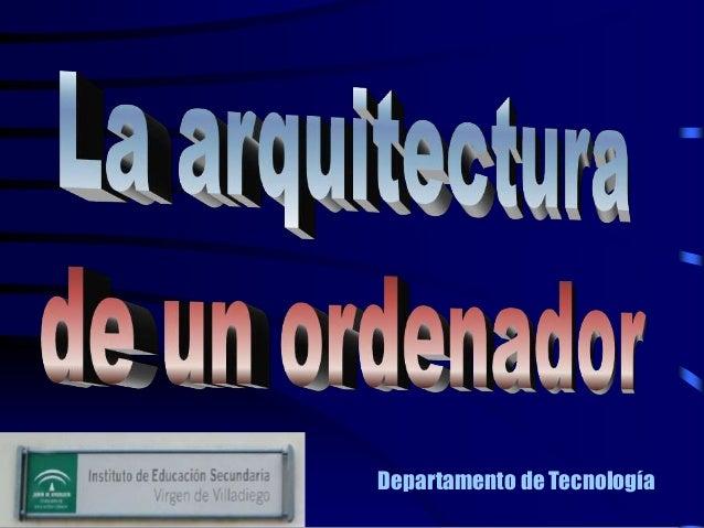Departamento de Tecnología