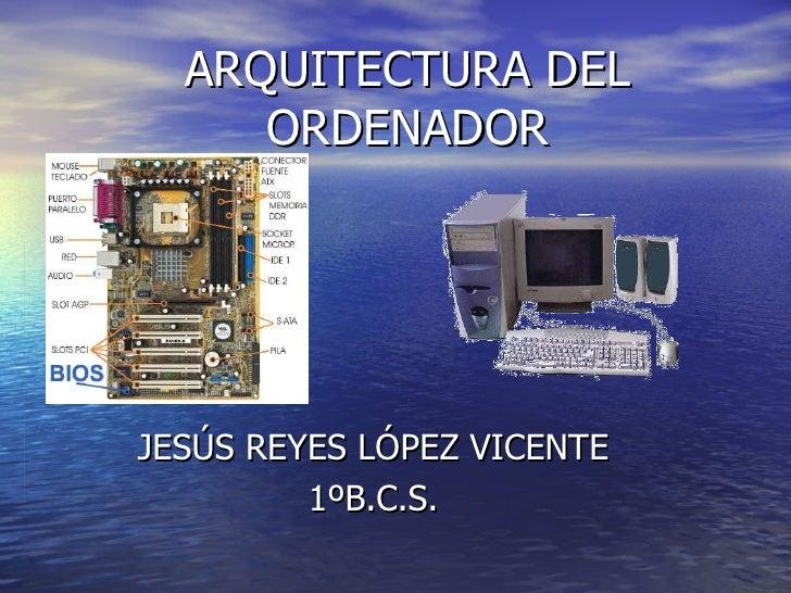 Arquitectura del ordenador for Arquitectura ordenador