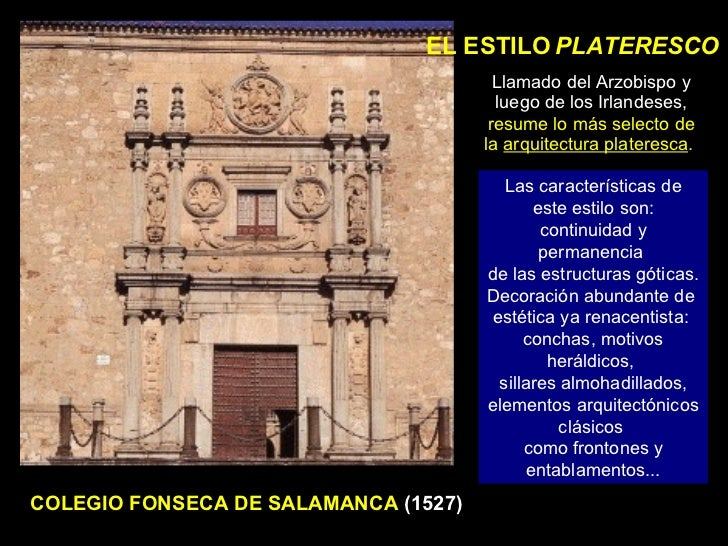 Arquitectura del renacimiento en espa a for Definicion de estilo en arquitectura